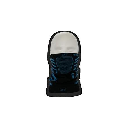 PR01.X9D Tour de cou SPECIAL HIVER. Dimension: 20x23 cm Noir avec écriture Bleu. OneDesign Cagoules et Tour de cou