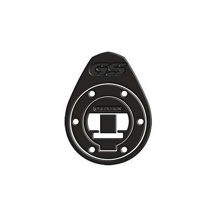 """PR08.021 Protège bouchon de réservoir pour BMW R1200 GS 2013-2017 Format : 135.5x174.4 mm. """" noir matt """" Protège Réservoir OneDe"""