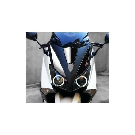 PR04.313 Kit graphique de protection frontale TMAX FACTORY RACING T-MAX 530 '2012/2014 xxx Info OneDesign