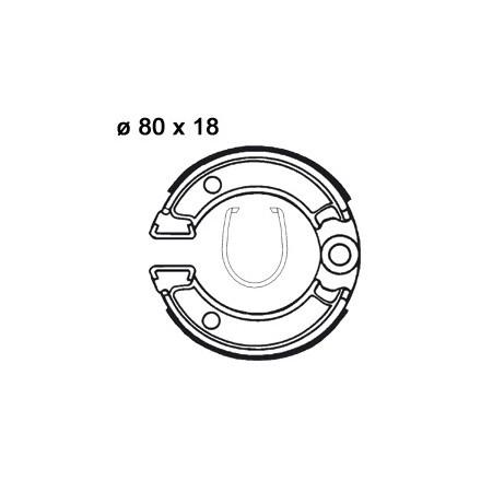 Machoires de freins AP RACING LMS800