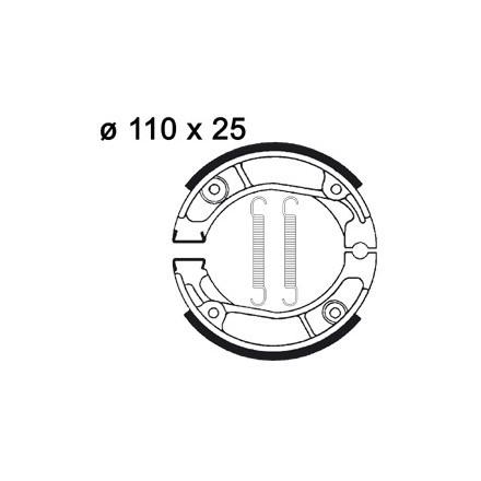 Machoires de freins AP RACING LMS803