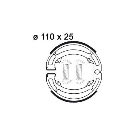 Machoires de freins AP RACING LMS807