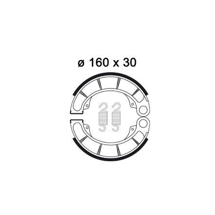 Machoires de freins AP RACING LMS930