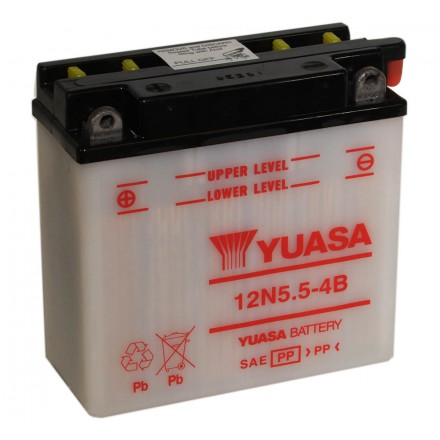 Batterie YUASA 12N5.5-4B