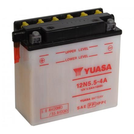 Batterie YUASA 12N5.5-4A