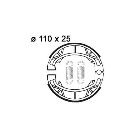 Machoires de freins AP RACING LMS802