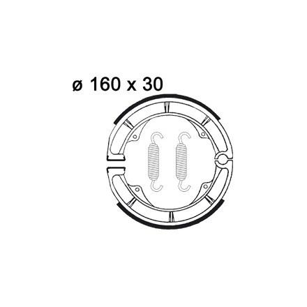 Machoires de freins AP RACING LMS808