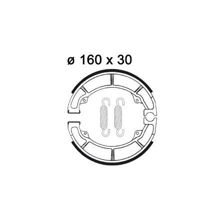 Machoires de freins AP RACING LMS828