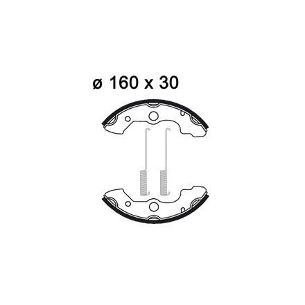 Machoires de freins AP RACING LMS835