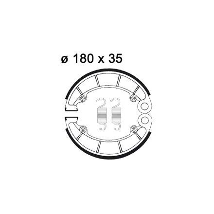 Machoires de freins AP RACING LMS836