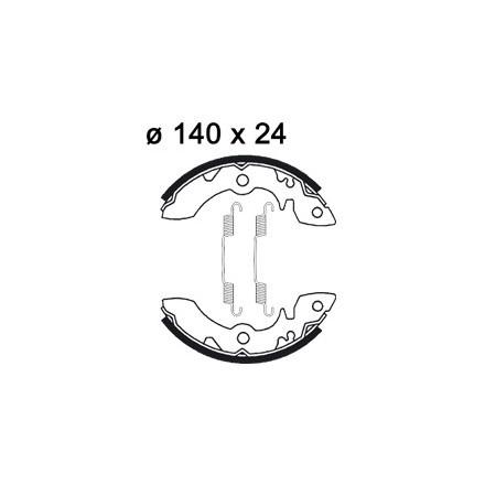 Machoires de freins AP RACING LMS841