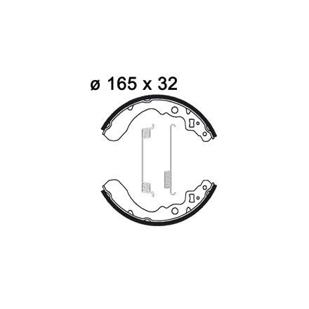 Machoires de freins AP RACING LMS843
