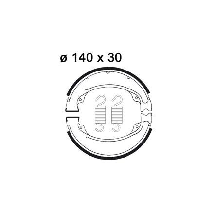 Machoires de freins AP RACING LMS845