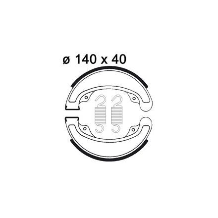 Machoires de freins AP RACING LMS848