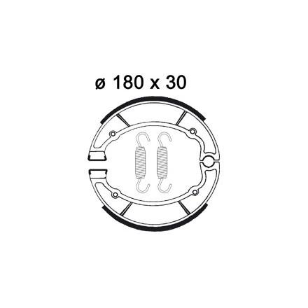 Machoires de freins AP RACING LMS852