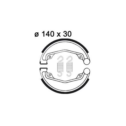 Machoires de freins AP RACING LMS855