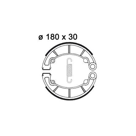 Machoires de freins AP RACING LMS869