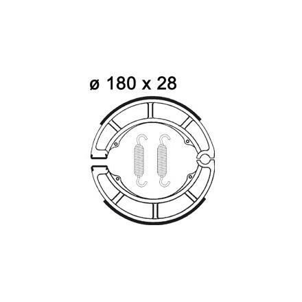 Machoires de freins AP RACING LMS874