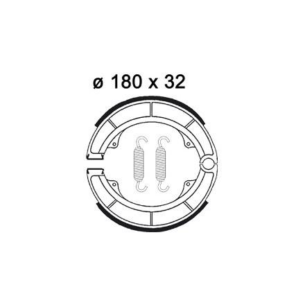 Machoires de freins AP RACING LMS876