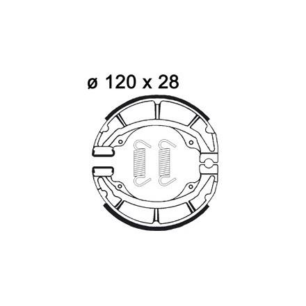 Machoires de freins AP RACING LMS879