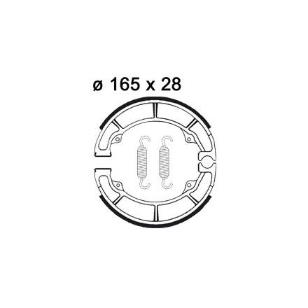 Machoires de freins AP RACING LMS883