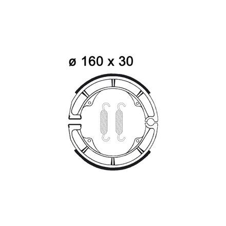 Machoires de freins AP RACING LMS884