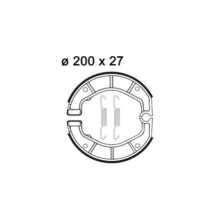 Machoires de freins AP RACING LMS898