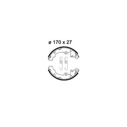 Machoires de freins AP RACING LMS902