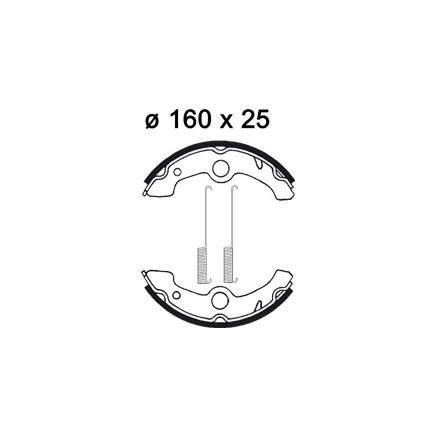 Machoires de freins AP RACING LMS903