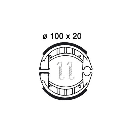 Machoires de freins AP RACING LMS914