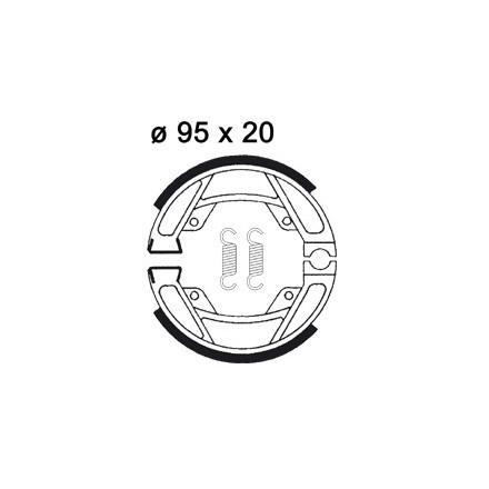 Machoires de freins AP RACING LMS917