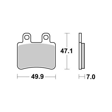 Plaquettes de frein AP RACING LMP373ST
