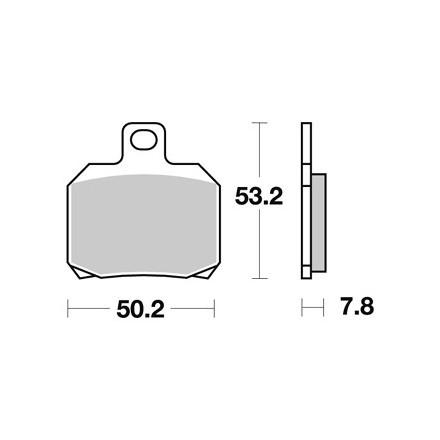 Plaquettes de frein AP RACING LMP330ST