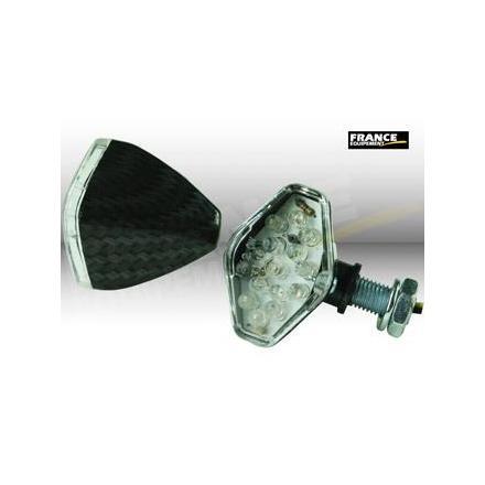 CL01.0512  Paire de clignotants, ampoule LED.  xxx Info