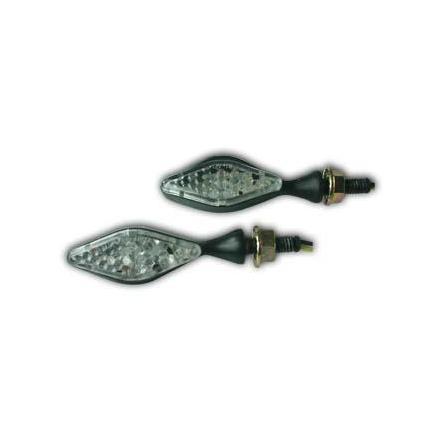 CL01.1402  Paire de clignotants, alliage en aluminium, ampoule LED  xxx Info