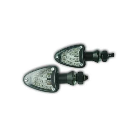 CL01.1502 Paire de clignotants, alliage en aluminium, ampoule LED xxx Info