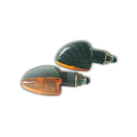 CL01.0118 Paire de clignotants, tige courte, ampoule halogène xxx Info