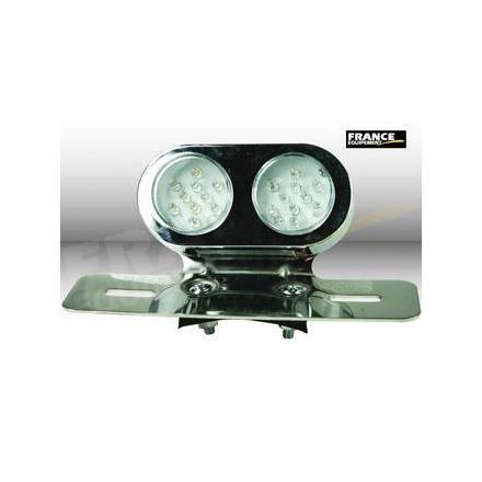 CL01.2302 Feu arrière avec fixation, ampoule LED. xxx Info