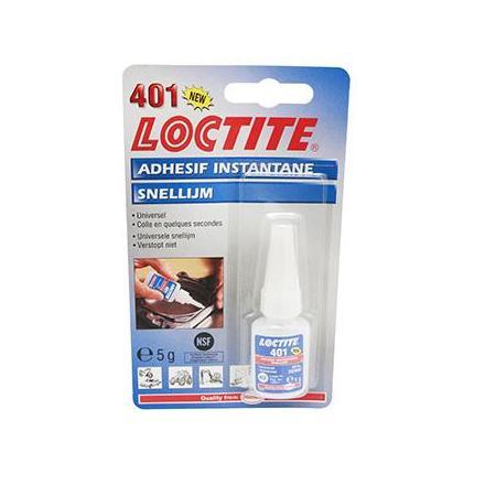 4869 COLLE SUPER GLUE LOCTITE 401 (FLACON 5 g SOUS BLISTER) xxx Info ALGI
