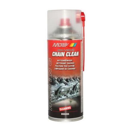 33588 NETTOYANT CHAINE MOTIP RACING CHAIN CLEAN (AEROSOL 400ml) xxx Info MOTIP