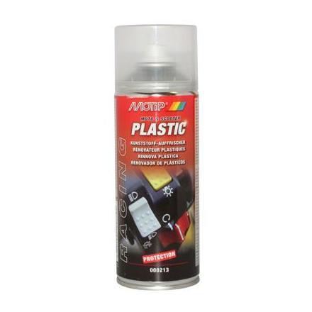 33594 RENOVATEUR PLASTIQUE MOTIP RACING PLASTIC (AEROSOL 400ml) xxx Info MOTIP