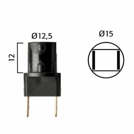 RM.246472090  Fiche pour ampoules T10 WB  Ampoules & Lampes