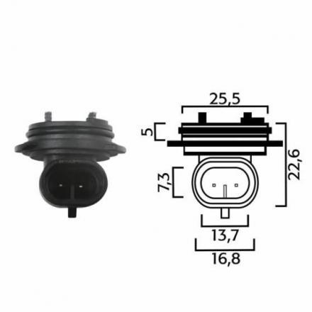 RM.246472060  Fiche pour ampoules H1  Ampoules & Lampes