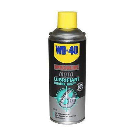 134052 LUBRIFIANT CHAINE WD40 SPECIALIST MOTO (AEROSOL 400ml) xxx Info WD-40