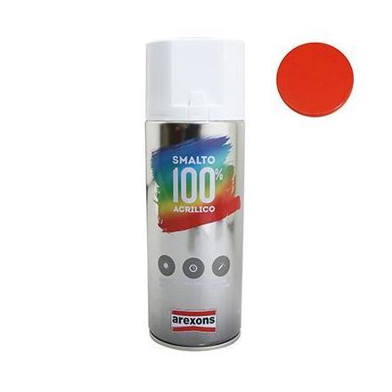 156326 BOMBE DE PEINTURE AREXONS ACRYLIQUE 100 ORANGE PUR BRILLANT spray 400 ml (3598) xxx Info