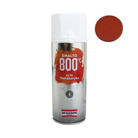 156325 BOMBE DE PEINTURE AREXONS PRO HAUTE TEMPERATURE 800°C ROUGE spray 400 ml (3436) xxx Info