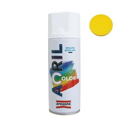 156334 BOMBE DE PEINTURE AREXONS ACRYLIQUE JAUNE TRAFIC RAL 1023 (SUZUKI) (spray 400 ml) (3977) xxx Info