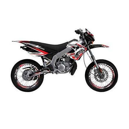 156350 KIT DECO 50 A BOITE VOCA POUR DERBI 50 SENDA X-RACE SM 2003>2007 -VOCA- xxx Info METZELER