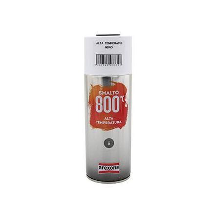 149891 BOMBE DE PEINTURE AREXONS PRO HAUTE TEMPERATURE 800°C NOIR spray 400 ml (3332) xxx Info