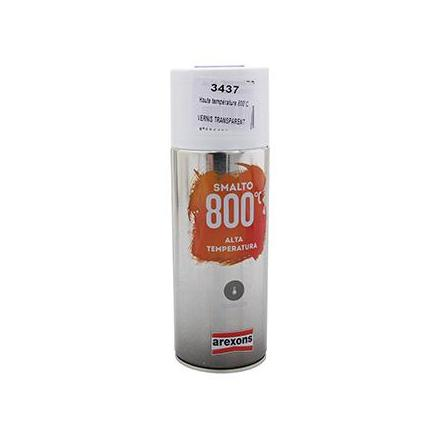 149892 BOMBE DE PEINTURE AREXONS PRO HAUTE TEMPERATURE 800°C VERNIS TRANSPARENT spray 400 ml (3437) xxx Info